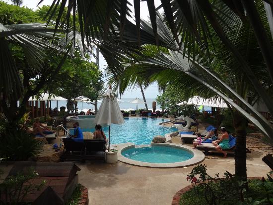Thai House Beach Resort: zwembad