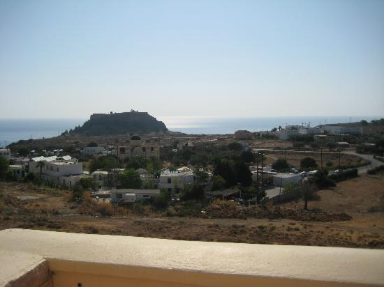 Lindos Horizon: View from the balcony