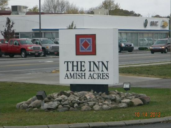 The Inn at Amish Acres: Our hotel