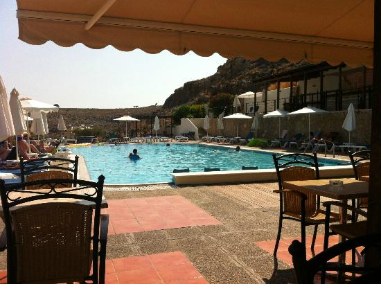 Lindos Horizon: Pool (view from snack bar)