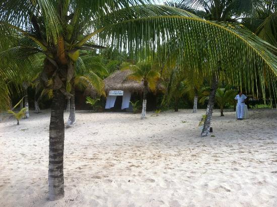 Nachi Cocom Beach Club & Water Sport Center: massage center