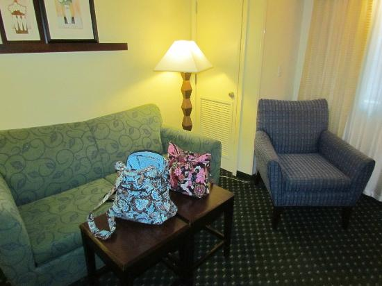 SpringHill Suites Victorville Hesperia: Living Room