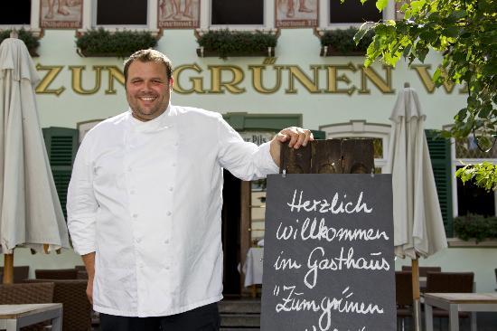 Zum Gruenen Wald: Chefkoch und Inhaber Vincent Orosco