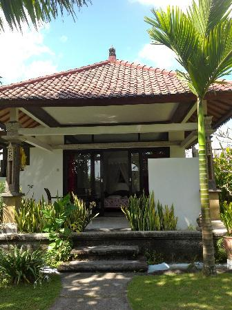 Senyum Villas: view one of the bungalows