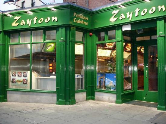 Zaytoon Restaurants: Zaytoon Restaurant - 44/45 lower camden st