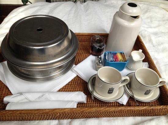 هوتل هافانا: breakfast 