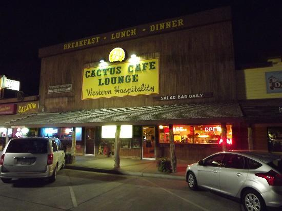 Cactus Cafe & Lounge: Across the Street from Wall Drug