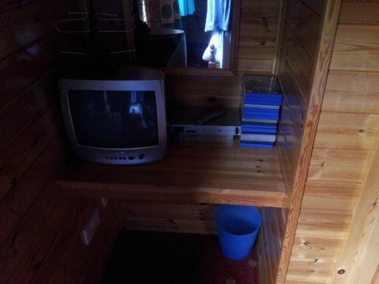 Watermouth Lodges: playstation in room
