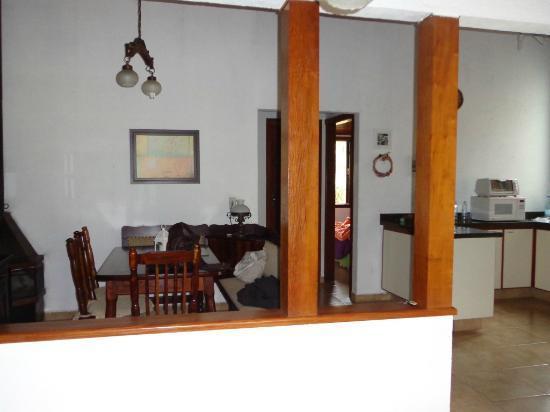 Pousada La Villa del Valle: dining area inside chalet
