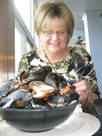 Lobster Cove: Great mussels