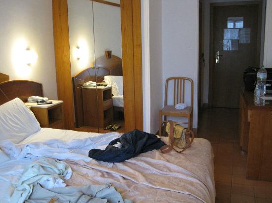 هوتل فيلا رومانا: minimi spazi... 
