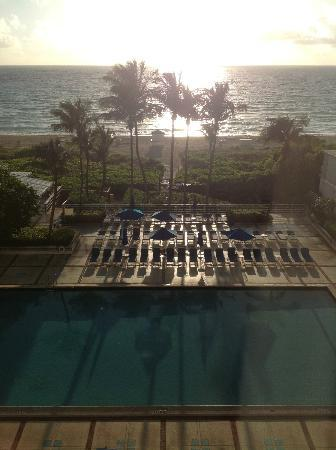 Miami Beach Resort and Spa: View from our room