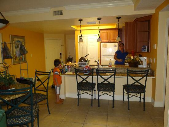 kitchen laundry and breakfast area