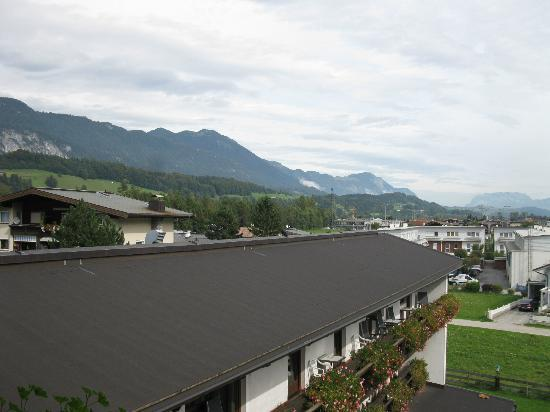 Hotel Sonnhof: View from balcony of room # 301