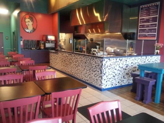 Frida's Taqueria: Inside the Taqueria