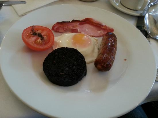 The Craiglynne Hotel: The cooked breakfast...