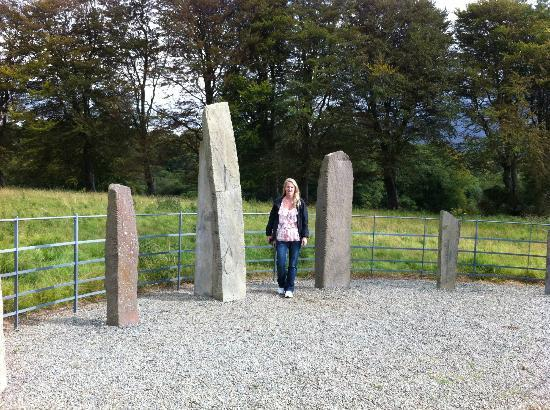 Woodlands Bed & Breakfast: Ogham stones...near Woodland's B & B