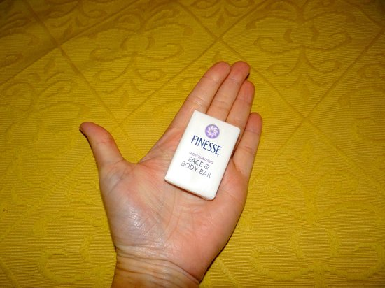 Fairbridge Inn & Suites:                   smallest bar of soap ever
