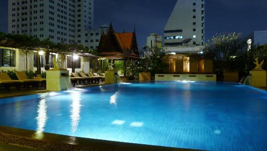 Siam Hotel: wow factor pool