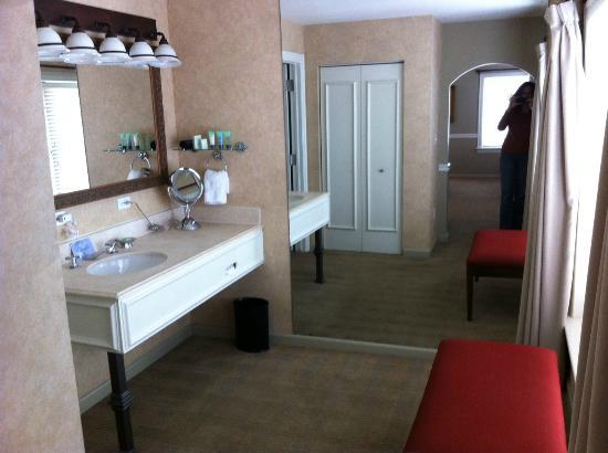 Ambassador Hotel Tulsa, Autograph Collection: Dressing room/bathroom
