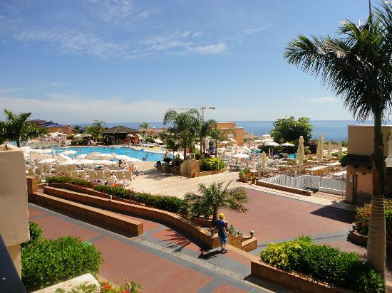 Holiday Village Tenerife: View from our room and of main pool