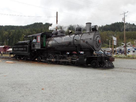 Mt. Rainier Scenic Railroad: 2-8-0 logging locomotive