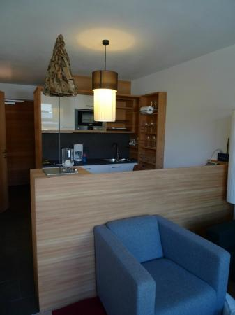 Lagacio Hotel Mountain Residence: Kitchen niche