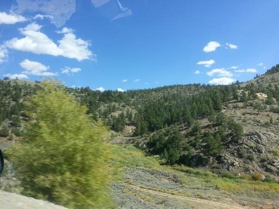 Moffat, CO: viaje por la carretera