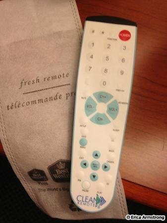 BEST WESTERN PLUS Brampton: Fresh remote
