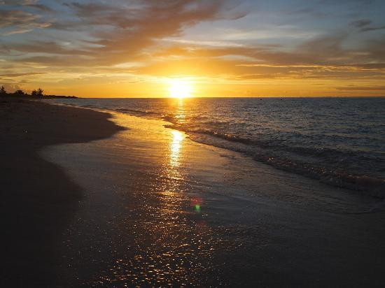 COMO Parrot Cay, Turks and Caicos: Beach at sunset