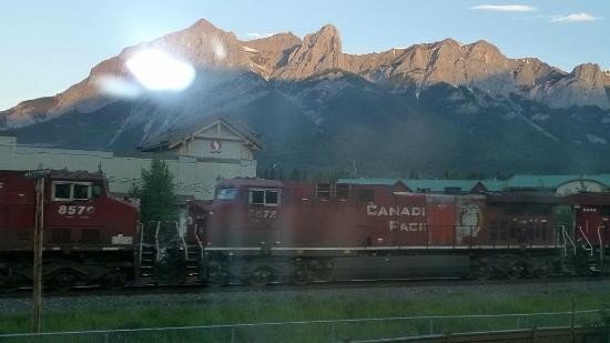 Ramada Canmore: From room