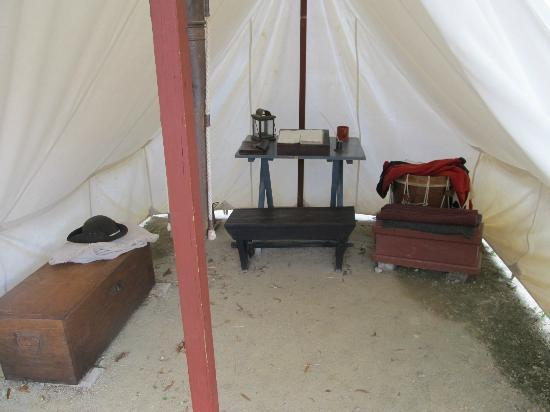 American Revolution Museum at Yorktown: encampment