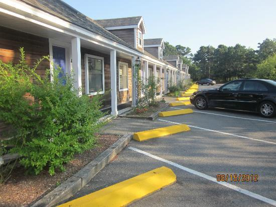 The Club at Cape Cod: parking in front of rooms