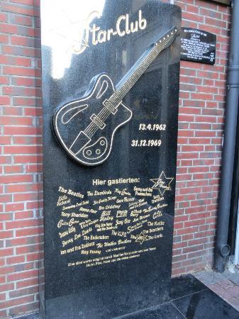 Beatles-Tour Hamburg: Where the Star Club used to be