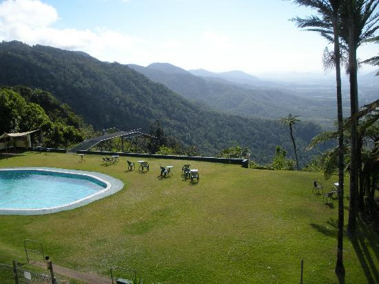 Eungella Chalet: View from room