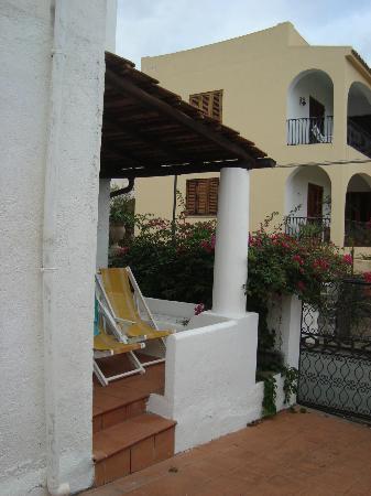 Gattopardo Park Hotel: Veranda - zum Relaxen!