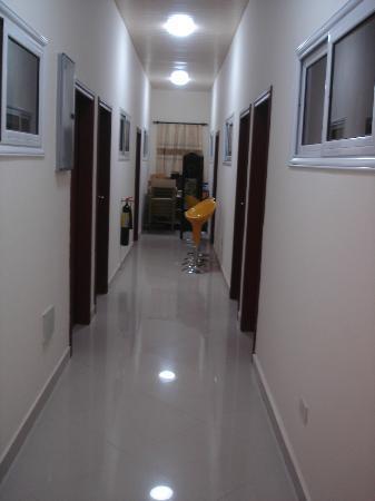 Spintex Inn: Corridor - upstairs rooms