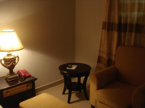 Spintex Inn: Sofa and Coffee Table