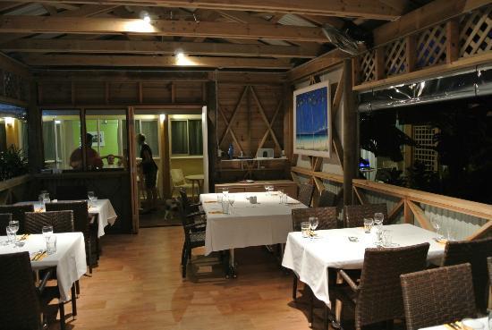 The Pavillion Dining Room : Inside the Pavilllion