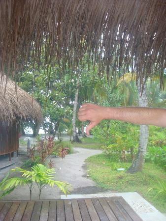 คุรามาธิ ไอแลนด์ รีสอร์ท: rain!