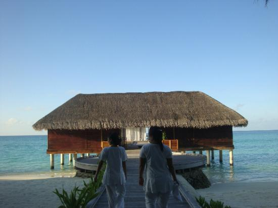 Kuramathi Island Resort: spa pavillion