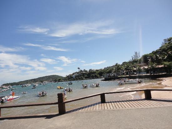 Pousada Villegaignon: Playa del centro a 3 cudras de la posada