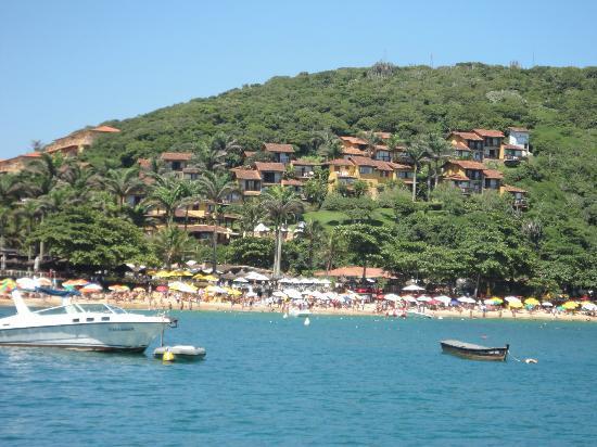 Pousada Villegaignon: Vista de Buzios desde el mar