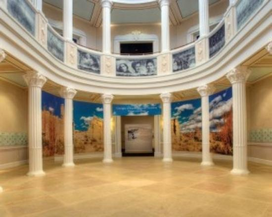 National Cowgirl Museum and Hall of Fame: The rotundra on the ground floor