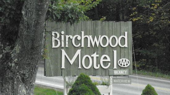 Birchwood: sign