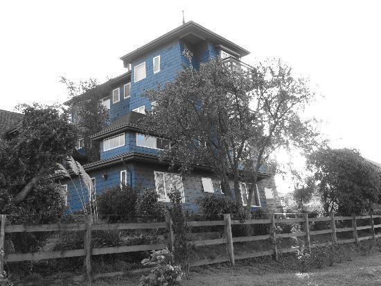 Casa Kalfu: La fachada