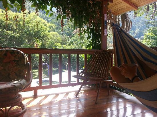 El Abrazo del Arbol : 2nd floor balcony