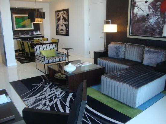 ARIA Sky Suites  view  2 of living dining space. Bedroom   Picture of ARIA Sky Suites  Las Vegas   TripAdvisor