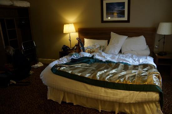 The Hog's Head Inn: The Bed was Comfortable and Clean