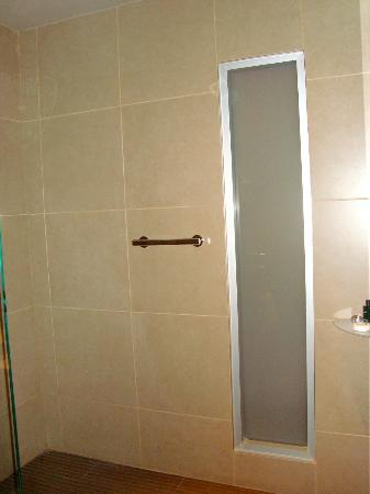 Sofitel Lyon Bellecour: shower entry